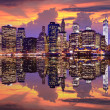 Stock Photo: Lower Manhattan