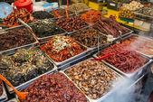 Gwangjang Markt in seoul — Stockfoto