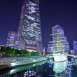 Stock Photo: Yokohama, Japat Night