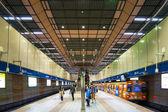 Longshan Temple Station — Stock Photo
