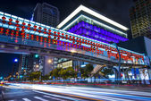 Taipei Nighttime Cityscape — Stock Photo