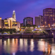 Stock Photo: Downtown Hartford, Connecticut Skyline