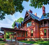 Mark Twain House — Stock Photo