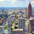 Atlanta Panorama — Stock fotografie
