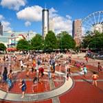 Atlanta Park — Stock Photo
