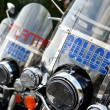 Stock Photo: Atlanta Police Motorbikes