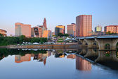 Hartford, Connecticut Skyline — Stock Photo