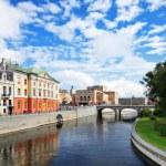 Stockholm Sweden Cityscape — Stock Photo