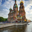 church of the savior on blood — Stock Photo #32795461