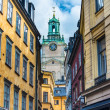 Stockholm Sweden Alley — Stock Photo