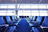 Airport Terminal Seats — Stock Photo
