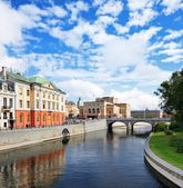 Stockholm sverige stadsbild — Stockfoto