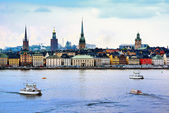 Stockholm Sweden Cityscape — Stock Photo