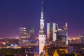 Tallinn Estonia Skyline — Stock Photo