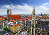 Munich Skyline — Stock Photo