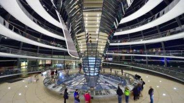 Reichstag German Parliament Building — Stock Video