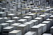 Holocaust Memorial in Berlin, Germany. — Stock Photo