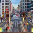 Friedrichstrasse in Berlin, Germany — Stock Video