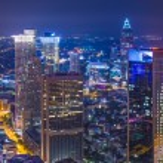 Frankfurt Germany Cityscape — Stock Photo #33209697