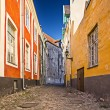 Stock Photo: Tallinn Alleyway