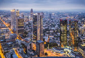 Cityscape allemagne francfort — Photo
