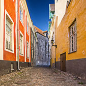 Tallinn Alleyway — Stock Photo