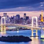 baai van Tokio — Stockfoto
