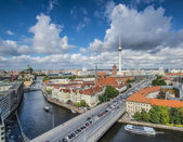 Berlin Cityscape — Stock Photo
