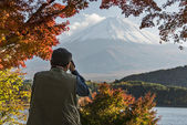 Mt Fuji Photographer — Stock Photo