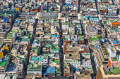 Busan rooftops — Stock Photo