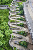 Zig Zag Walkway — Stock Photo
