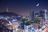 Seoul Skyline — Stock Photo