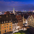 Stock Photo: Nuremberg Skyline