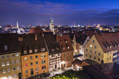 Skyline di Norimberga — Foto Stock