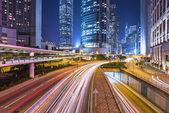 Hong Kong, China Financial District — Stock Photo