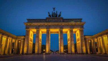 Brandenburg kapısı — Stok video