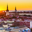 Stock Photo: Tallinn EstoniSunset