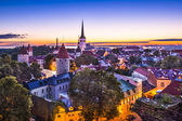 Tallinn Estonia Dawn — Stock Photo