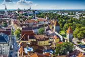 Tallinn Estonia Aerial View — Stock Photo