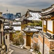 Historic Neighborhood of Seoul — Stock Photo
