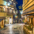 Historic Neighborhood of Shibu Onsen, Japan. — Stock Photo #36290015