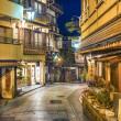 Historic Neighborhood of Shibu Onsen, Japan. — Stock Photo