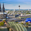 Stock Photo: Cologne Skyline