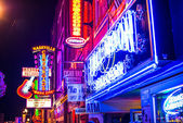Lower Broadway Nashville — Stock Photo