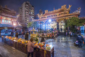 Longshan Temple Taipei — Stock Photo