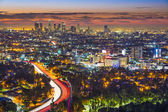 Dawn in LA — Stock Photo