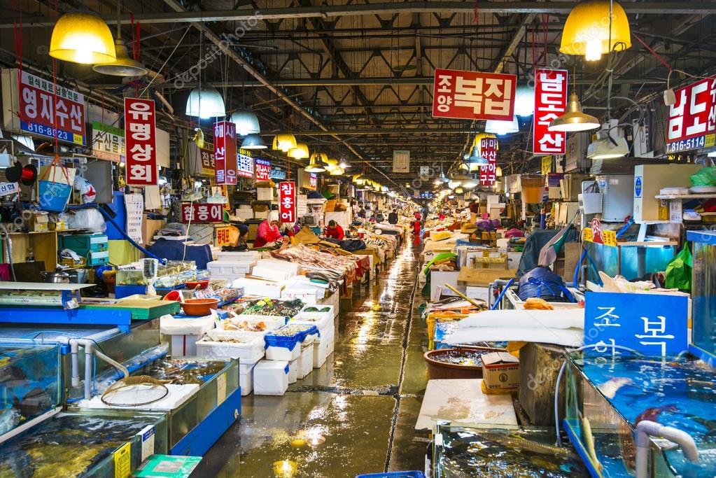 Mercado de pescado fotos de stock sepavone 36948737 for Wholesale fish market los angeles