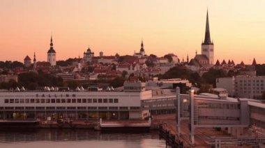 タリン、エストニア — ストックビデオ