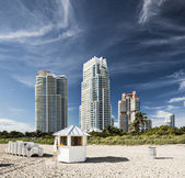 Miami Beach High Rises — Stock Photo