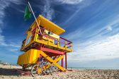 Life Guard Post — Stock Photo